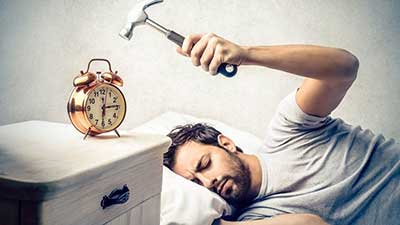 چگونه مشکل دیر بیدار شدن را حل کنیم؟